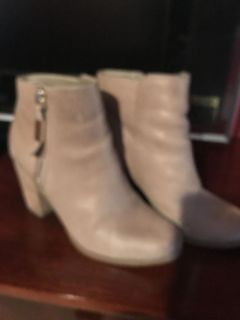 Taupe shoe boots