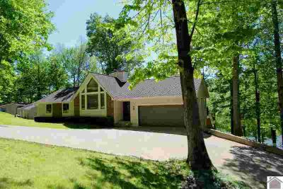 710 Barrett Rd Eddyville Five BR, Awesome lakefront home with