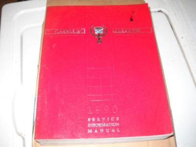 Buy 1990 CADILLAC ALLANTE SERVICE MANUAL FSM FACTORY SERVICE MANUAL OEM motorcycle in Carbondale, Pennsylvania, United States, for US $55.00