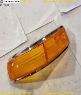 ghia new oem turn lens left old stock NOS