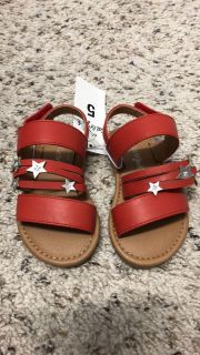 Baby toddler girl sandals NWT size 5