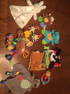Baby toys and teethers