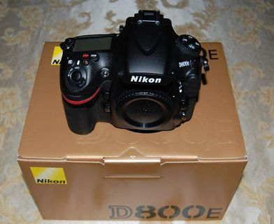 Nikon D800E Digital SLR Camera Body USA Model  $1800