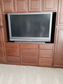 Mitsubishi 51 inch projection TV FREE