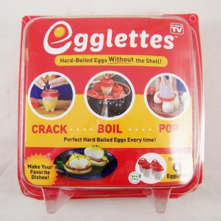 Egglettes Hard Boiled Eggs without the Shell