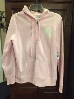 New with tags old navy pink large hooded jacket women s or juniors