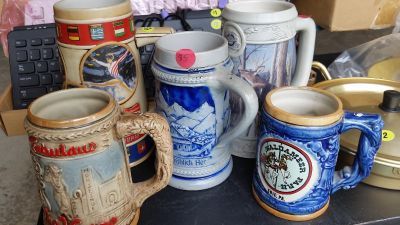 $5 each $20 collection of various mugs