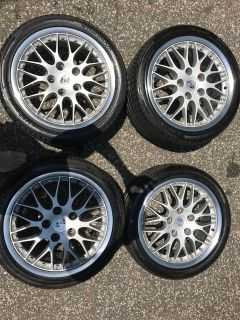"18"" Porsche Factory BBS Sports Classics II with Hankook Tires"