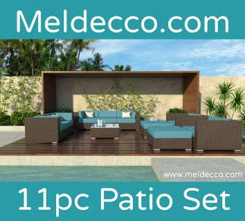 New Patio Wicker Set At A Very Low Price