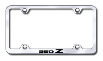 Sell Nissan 350Z Wide Body Engraved Chrome License Plate Frame -Metal Made in USA G motorcycle in San Tan Valley, Arizona, US, for US $30.98