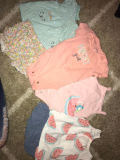 Carters 6 month lot