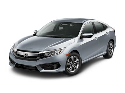 2018 Honda Civic LX (Blue)