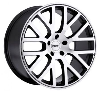 Buy 18x8 TSW Donington 5x112 Rims +32 Mirror Cut Face Wheels (Set of 4) motorcycle in Hayward, California, United States, for US $1,120.00