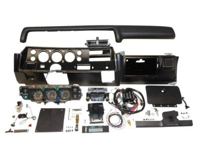 Find 1970 CHEVELLE SS DASH KIT TACH GAUGES RADIO WITH AIR COND COMPLETE EL CAMINO motorcycle in Fullerton, California, United States, for US $2,249.95