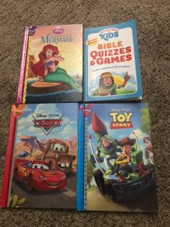 Disney books and bible games