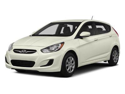 2014 Hyundai Accent GS (Boston Red Pearl)