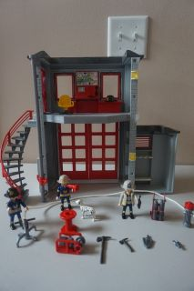Playmobil Fire Rescue Station w/ Truck