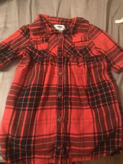 Old Navy Flannel shirt Size 3T
