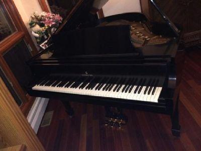 $18,000 OBO ~~~Pristine Satin Ebony Steinway Grand Piano~~~
