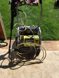 Ryobi 1700 psi power washer