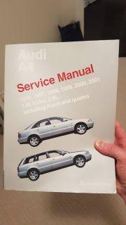 B5 A4 Bentley manual, mint