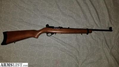 For Sale: Ruger 10/22 with tech sights