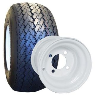 Sell NEW Set Of 4 Tires and Wheels For Golf Cart Carts Club Car, Yamaha, EzGo, Star, motorcycle in Pompano Beach, Florida, United States, for US $210.00