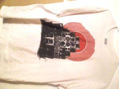 2 OLD NAVY XL T Shirts-DJ SpeakersVintage 81 Football-tiesto Raiders