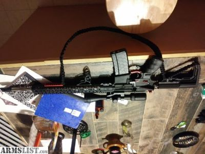 For Sale: Ar15 fresh built maybe 100 rounds thru it