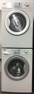 Amana Frontload Gas Stackable Washer and Dryer