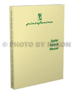 Sell 1975 1976 1977 1978 Fiat 124 Spider Repair Shop Manual Service Book motorcycle in Riverside, California, United States, for US $49.00