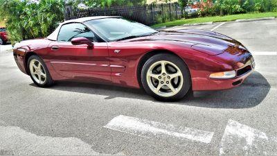 2003 Chevrolet Corvette Base (Maroon)