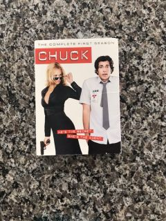 Chuck Season 1 DVDs