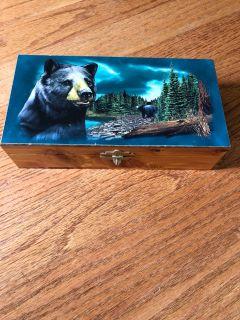 Cedar lined box