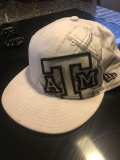 Texas A & M fitted ball cap. Size 7 1/4