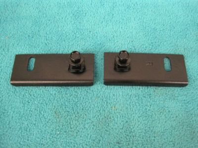 Find 1970 CHALLENGER GRILLE CENTER SUPPORT BRACKETS TO HOOD LATCH TRAY, NICE CLN PAIR motorcycle in Stillwater, Minnesota, United States