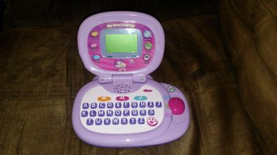 Pink Leap Frog my own laptop