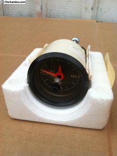 Vintage NOS OEM VDO Quartz 2 1/8 Cockpit clock