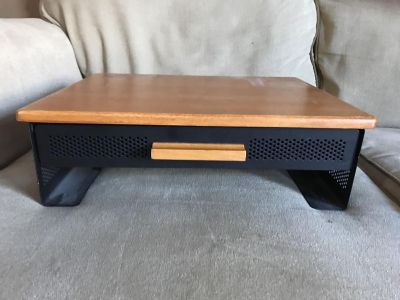 Monitor Stand with Drawer