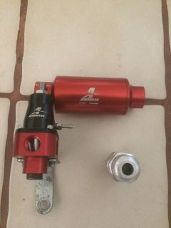 AEROMOTIVE FUEL REGULATOR AND FILTER