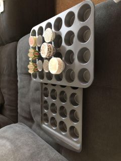 Mini cupcake pans and liners