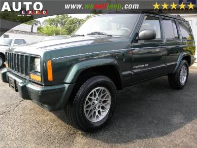 1999 Jeep Cherokee Limited (Forest Green Pearl)