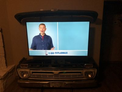 Ford Pickup TV stand