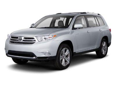 2012 Toyota Highlander Limited (White)