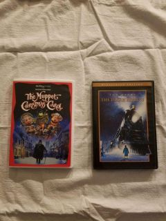 The Muppet Christmas Carol and The Polar Express, $5.00
