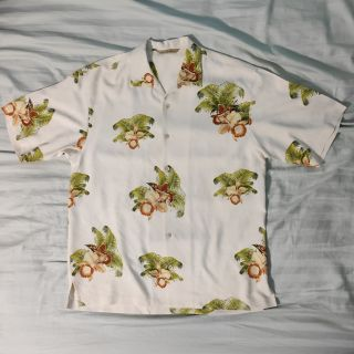Tommy Bahama Hawaiian Shirt All Silk