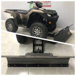 2019 Suzuki KingQuad 500AXi Power Steering SE+ ATV Utility Belleville, MI