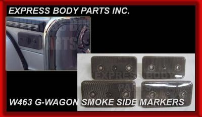 Sell SMOKE 2 PAIR MERCEDES W463 G-WAGON G500 G550 G55 G63 SIDE MARKERS REFLECTOR LIGH motorcycle in North Hollywood, California, US, for US $129.99