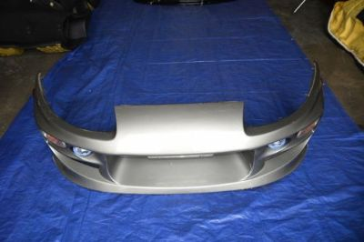 Sell Toyota Supra Bomex Front Bumper Foglight Mesh Grill JDM FRP JZA80 MKIV MK4 Lip motorcycle in Fort Lauderdale, Florida, United States, for US $450.00