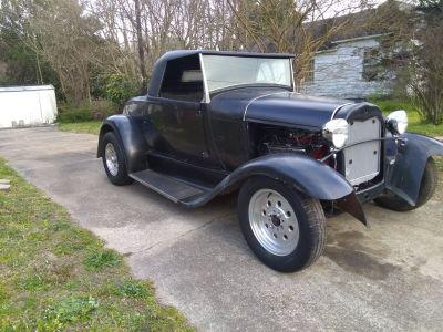 1930 Ford Model A Roadster (Fiberglass Body)